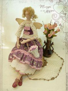Купить Кукла Тильда Цветочная фея Фионита - тильда, кукла Тильда, куклы тильды ♡