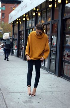 40 Cute Oversized Sweater Outfit Ideas For 2015