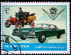 Ajman Stamp (Manama dependency of Ajman) 1970