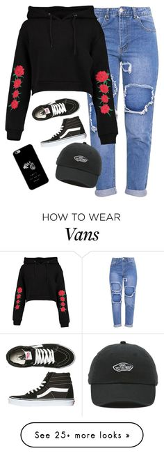 """""""Very cute, yet simple 5"""" by lollypopz951 on Polyvore featuring Boohoo and Vans"""