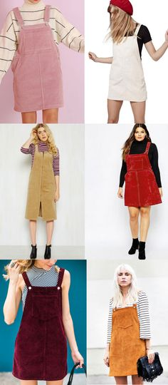 Inspiration for Sewing the Cleo Pinafore | Tilly and the Buttons | Bloglovin'