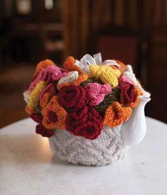 Cassandra's Tea Cozy Pattern; Anne Berk; Jane Austen Knits 2014 | InterweaveStore.com