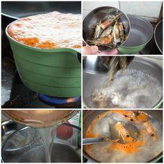 κριθαρότο γαριδας - ζωμός γαρίδας Seafood Recipes, Shrimp, Appetizers, Dinner, Amazing, Dining, Appetizer, Food Dinners, Ocean Perch Recipes