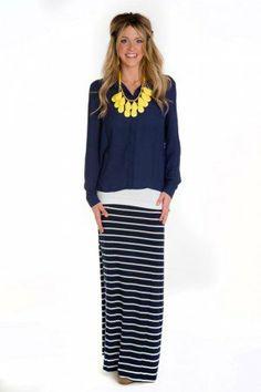Slub V Neck Pocket Tee   Grey, Maxi skirts and Skirts
