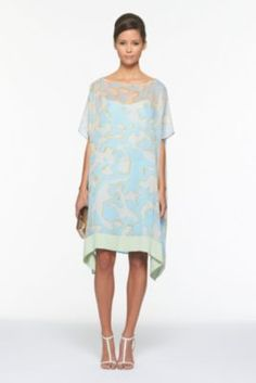 DVF | Diane Hanky Band Dress In Graphic Bracconier, Spring 2012: Beginnings