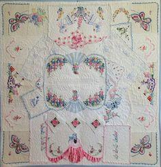 Old Quilts, Vintage Quilts, Vintage Fabrics, Vintage Linen, Upcycled Vintage, Repurposed, Vintage Sheets, Antique Lace, Vintage Sewing