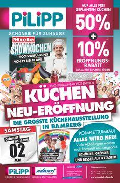 Popular K CHEN NEU ER FFNUNG in Bamberg mit SHOWKOCHEN