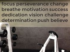 home gym ideas   motivational gym wall decal   #fitness #motivation #motivation