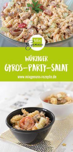 Gyros-Party-Salat – MixGenuss Blog