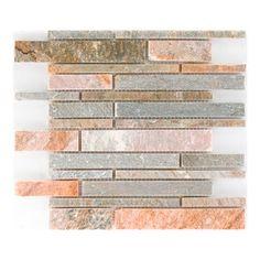 Mozaika kamienna Quarzit beige bahn 30,5 cm x 30,5 cm