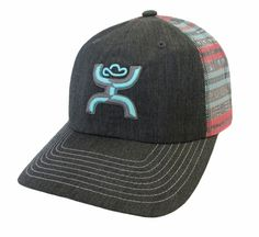 Just in Hooey Mayan Trucker Cap Low Profile Hat Team Calf Breakaway Roper | eBay
