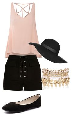 """""""summer outfit"""" by jacquelinebroersen on Polyvore featuring mode, Glamorous, River Island, Verali, Topshop, women's clothing, women, female, woman en misses"""