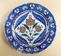 Iznik Plate 16 Th Century Hermitage Museum St Petersburg Russia