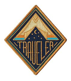 Traveler Embroidered Sew or Iron-on Patch Asilda Store http://www.amazon.com/dp/B017GT8UEU/ref=cm_sw_r_pi_dp_aCdTwb0ABJY6V