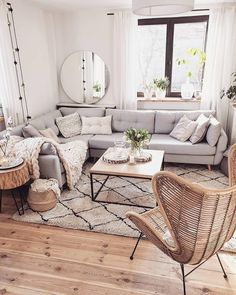 living room decor \ living room decor + living room decor ideas + living room decor apartment + living room decor on a budget + living room decor cozy + living room decor ideas on a budget + living room decor modern + living room decor farmhouse Living Room Decor Cozy, Living Room Update, Living Room Grey, Home Living Room, Living Room Designs, Nordic Living Room, Loving Room Decor, Danish Living Room, Scandinavian Living Rooms