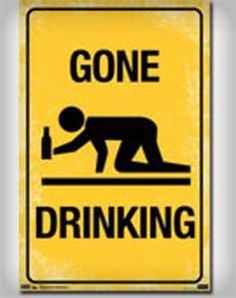 Image detail for -... Dorm / Posters / For Fun / 'Gone Drinking' Poster