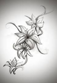 Jasmine flower tattoo