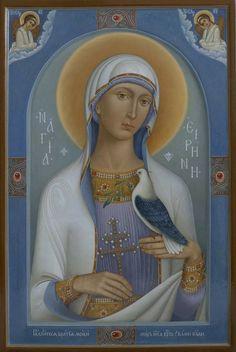 Byzantine Icons, Holy Family, Orthodox Icons, Christian Art, Ikon, Madonna, First Love, Mosaic, Saints