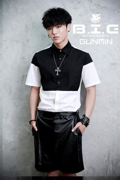 Gun Min |  B.I.G (Boys In Groove) Can also sing amazing voice :)