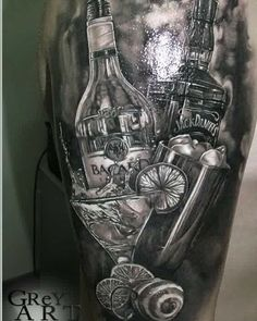 Bartender tattoo #tattoo #tattoos #tat #ink #inked #TFLers #tattooed #tattoist #coverup #art #design #instaart #instagood #sleevetattoo #handtattoo #chesttattoo #photooftheday #tatted #instatattoo #bodyart #tatts #tats #amazingink #tattedup #inkedup #bartender #bartenderlife #bartendertattoos
