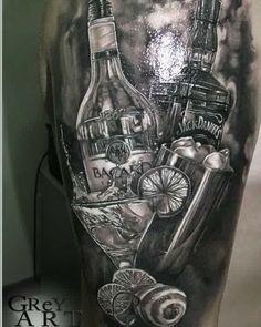 Bartender tattoo #tattoo #tattoos #tat #ink #inked #TFLers #tattooed #tattoist #coverup #art #design #instaart #instagood #sleevetattoo #handtattoo #chesttattoo #photooftheday #tatted #instatattoo #bodyart #tatts #tats #amazingink #tattedup #inkedup #bartender #bartenderlife #bartendertattoos