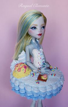 "Commission Monster high Lagoona Blue ""Sweet Collection"""