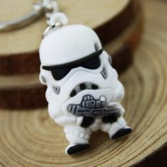 Storm Trooper/Darth Vader Keyring USD $0.49 (AUD $0.67) Delivered @ Everbuying