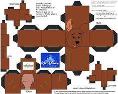 Dis25: Kanga and Roo Cubees by TheFlyingDachshund.deviantart.com on @deviantART