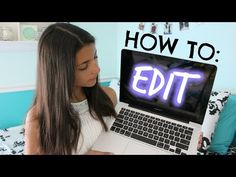 """Surprisingly good video on how to use iMovie to do basic """"fun"""" things for YouTub. Youtube Hacks, Youtube Setup, You Youtube, Start Youtube Channel, Making Youtube Videos, Video Channel, Marketing Software, Marketing Digital, Marketing Tools"""