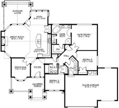 13 Best 1700-1800 sq ft house images | How to plan, House ... Rambler House Plans Square Foot on craftsman style ranch house plans, 1800 sf house plans, 1980s house plans, home style craftsman house plans, house floor plans, large antebellum house plans, 1800 ft. house plans, country ranch house plans, contemporary house plans, cajun house plans,