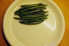 Blanchierte Prinzessbohnen One Shoulder Dress Long, Pasta, Dress Hairstyles, Asparagus, Green Beans, Low Carb, Vegetables, Food, Al Dente