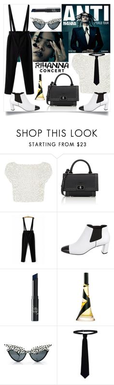 """""""Rihanna concert"""" by dorinela-hamamci ❤ liked on Polyvore featuring Coast, Givenchy, WithChic, Casadei, A-Morir by Kerin Rose and RED Valentino"""