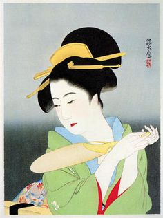 Ito Shinsui: In early summer ,1933