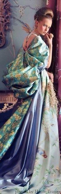 Une robe de la belle-époque