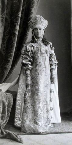 Princess Elisabeth  Obolensky. Imperial Costume Ball. Winter Palace. 1903.