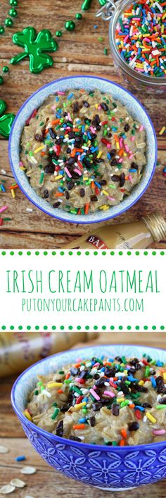 Irish cream isn't just for your morning coffee - try it in your oatmeal for a deliciously rich twist!