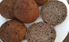 Luxusní makové houstičky - nízkosacharidové Food Inspiration, Ham, Banana Bread, Smoothies, Muffin, Food And Drink, Low Carb, Healthy Recipes, Breakfast