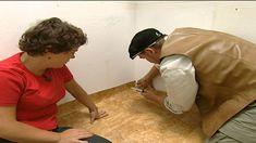 PVC-Fußboden verlegen