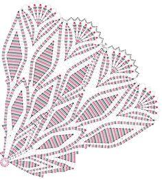 Lace patroen crochet