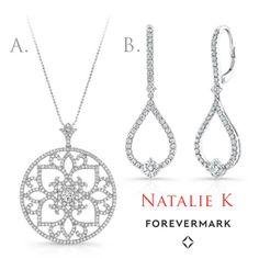 Capri Jewelers Arizona ~ www.caprijewelersaz.com  Which would you rather sparkle in?