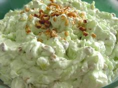 """Watergate Salad: """"This salad brings back memories. My grandma always made this salad for every holiday."""" -mommyoffour"""