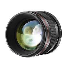 Neewer Multi-Coated Portrait Aspherical Telephoto Lens for Canon EOS Rebel and DSLR Cameras, Manual Focus HD Glass Nikon D3100, Nikon D5, Dslr Cameras, Sony A6000, Iphone 6, Canon Eos, Cheap Camera Lenses, Rebel, Digital Camera Lens