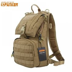 EXCELLENT ELITE SPANKER Military Tactical Backpack Hunting Accessories Sport Bag Molle Tactical Pouch Hunting Bag Price: 38.78 & FREE Shipping #bag #chanel #clothes #siambrandname #followme #luxury #sbn #happy #follow #fashionblogger #summer #instadaily Tactical Pouches, Tactical Backpack, Tactical Vest, Sling Backpack, Hunting Accessories, Bag Accessories, Molle System, Hunting Bags