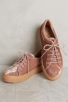 Cally  Velvet Sneakers
