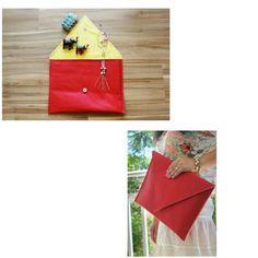Atraia todos os olhares com a Clutch Envelope Rossa. Compre em www.libel4.com