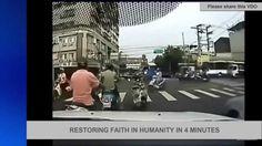 RESTORING FAITH IN HUMANITY IN 4 MINUTES น้ำใจยังไม่หายไป..จากโลกใบนี้ https://www.youtube.com/watch?v=51uhkAcCclI