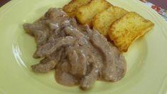 Ebéd az erdőből: szarvashús és gomba Pork, Meat, Kale Stir Fry, Pork Chops