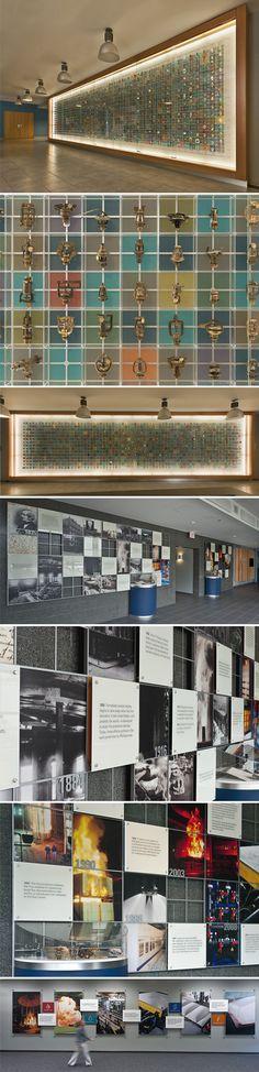 Historic Timeline + Sprinkler Displays on Behance