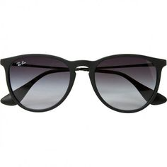 Black Metal Sunglasses RAY-BAN (1 245 ZAR) ❤ liked on Polyvore