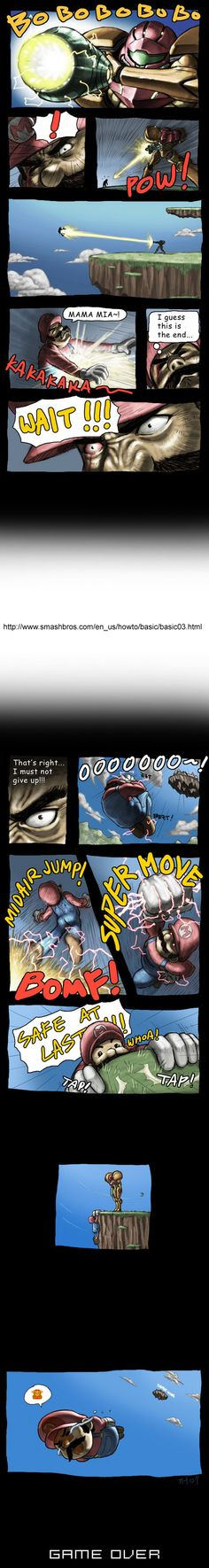 Super Smash Bros comic retry by ~torokun on deviantART